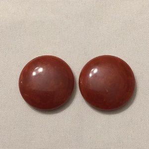 Former earrings, vintage, test Bakelite
